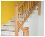 Geländer und Stufen